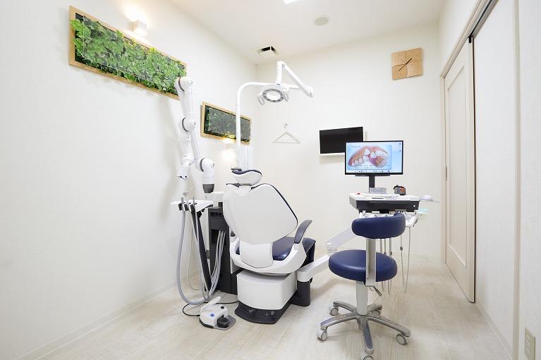 個室の診療室